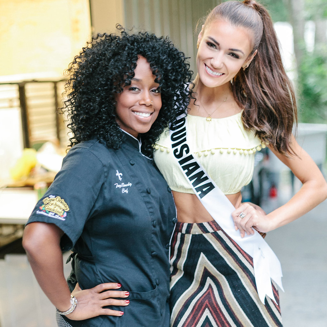 Chef Toya & Miss Louisiana