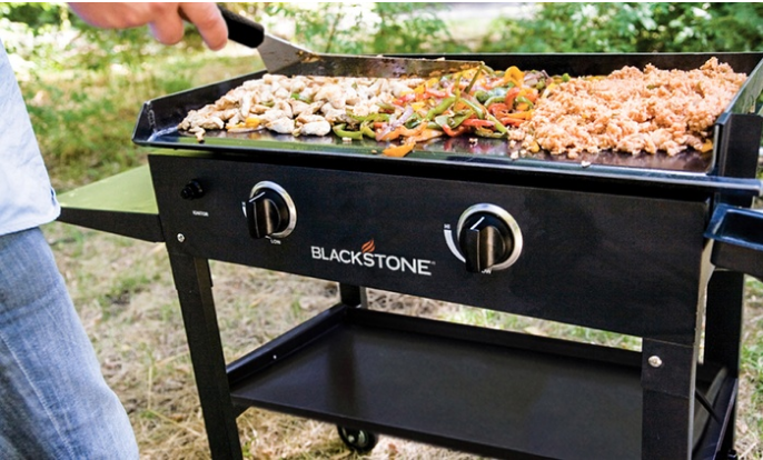 Outdoor Griddle Cooking Station