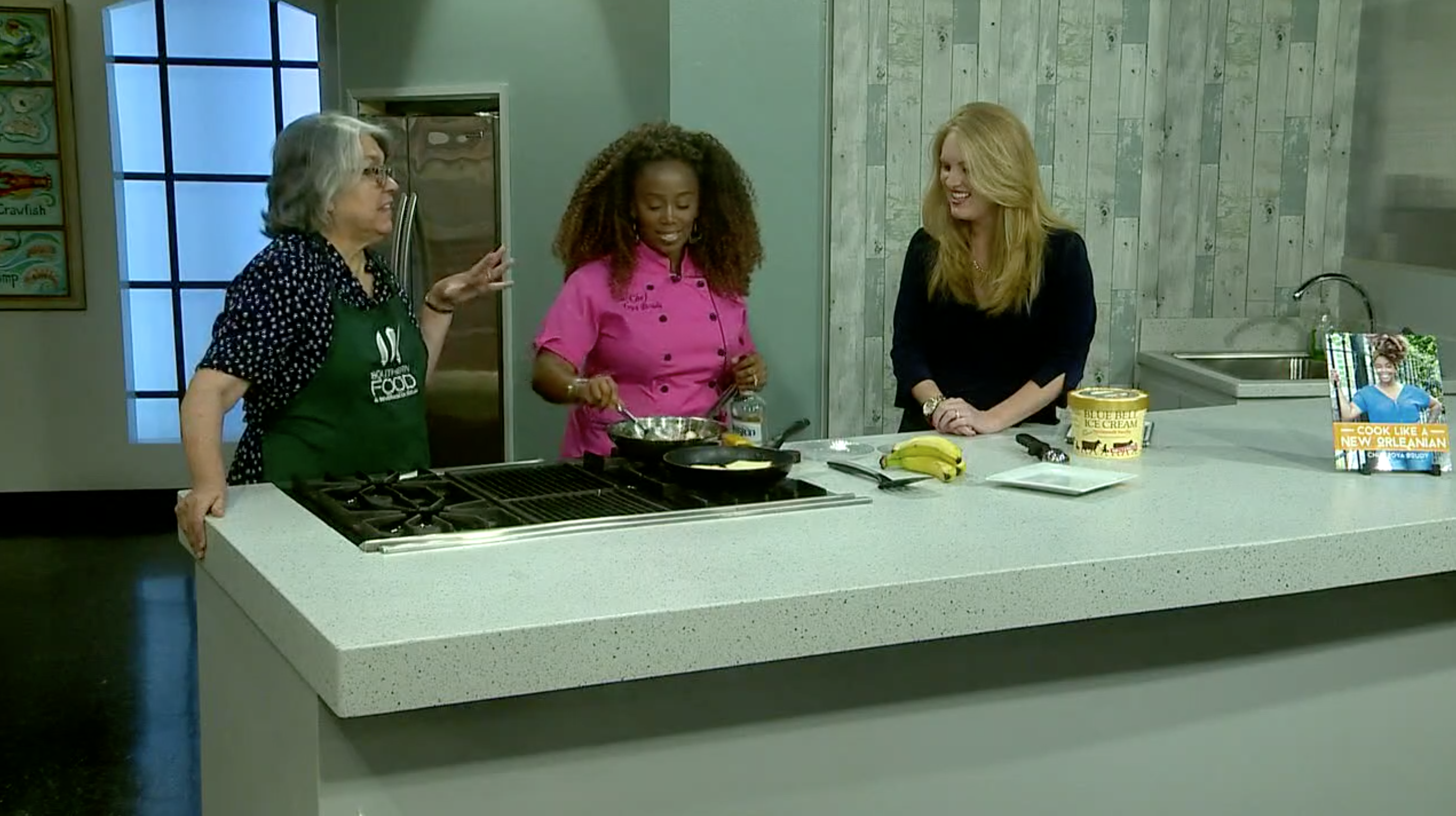 Chef Toya on WWLTV Promoting Cook Like A New Orleanian